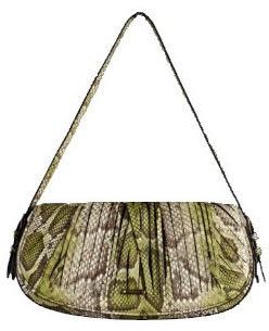 Burberry Sling Purse in Python